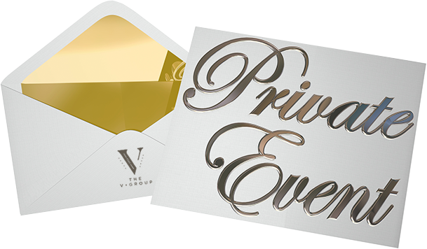 Private Events with V Group Concepts
